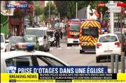 Normandy Siege: Police Shot Knifemen Which Killed Priest