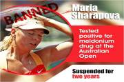 Doping Ban Reduced, Could Sharapova Comes Back?