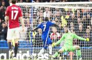Kantes Solo Strike Defeat Manchester United