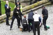 UK Parliament Terror, Policeman Stabbed and Several Injured