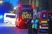Explosion Hit Borussia Dortmund Team Bus