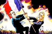 Macron and Le Pen to Fight for France Presidency
