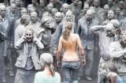 Zombie Nations Give Welcome Protest to G20 Summit