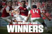 Win Community Shield, Arsenal Equivalent to Liverpool