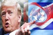 In Front of UN General Assembly, Trump Would Destroy North Korea