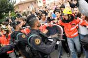 Catalan Riot Ask Referendum for Independence
