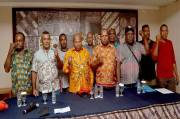 Faced Foreign NGOs Voice, Merauke Regent Comes to US Embassy