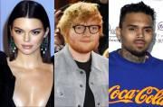 Muncul di Video Chris Brown, Kendall Jenner & Ed Sheeran Dikecam