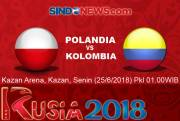Preview Polandia vs Kolombia: Momentum Bangkit