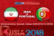 Preview Iran vs Portugal: Meredam Ronaldo
