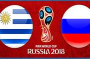 Data dan Fakta Pertandingan Uruguay vs Rusia