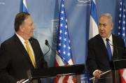 Pompeo Discusses With Netanyahu Unacceptable Threat Posed by Iran