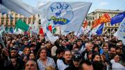 Rival rallies held across Italy ahead of election