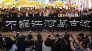 Hong Kong pro-democracy protest leaders sentenced