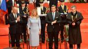 Slovakias first female president sworn in