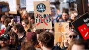 EU copyright bill: Protests across Europe highlight rifts over reform plans