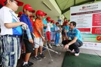 Coaching Clinic Joe Gliynn di CIMB Niaga Indonesia Master 2015