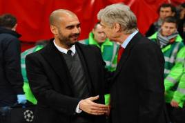 Arsenal Dekati Pep Guardiola