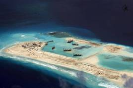 China AS Ubah Laut China Selatan Jadi Zona Militer