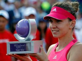 Simona Halep Jawara Bucharest Open