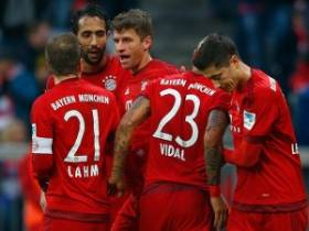 Munchen Gulung Hertha Berlin di Allianz Arena