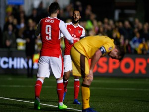 Bungkam Sutton United, Arsenal Lolos ke Perempat Final Piala FA