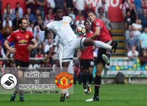 Jelang Laga Swansea City kontra Manchester United