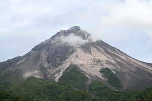 Pasca gempa, Gunung Burni Telong masih normal
