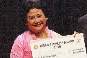 Prita Gani ASEAN Peoples Award 2015