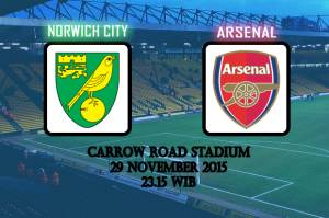 Preview Norwich City vs Arsenal Tim Tamu Diganggu Badai Cedera