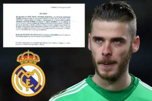 Ini Gaji David De Gea Andai Jadi Ke Real Madrid