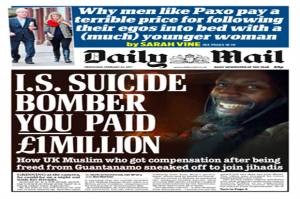 Blair Hit Out Daily Mail as Utter Hypocrisy