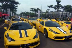 Kemeriahan Ferrari Festival of Speed di BSD City