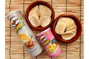 Cicipi Pringles Rasa Baru, New York T-Bone Steak & Eggs Benedict