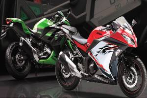 Recapture 250 cc Segment, Kawasaki Compete with Another Japanese Manufacturer