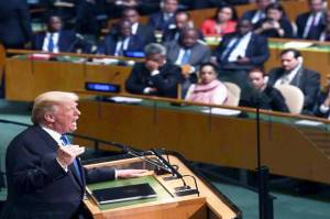 Trumps First UN Speech Said Like Hate Speech