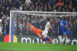 Hazard Rescues Chelsea from Roma Domination