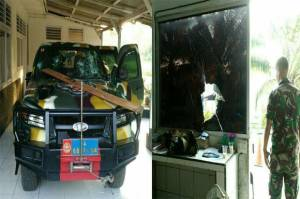 Marine Soldiers Rampage and Attacked Commanders House