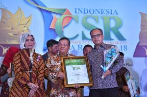 Modernland Realty Raih Indonesia CSR Award 2018