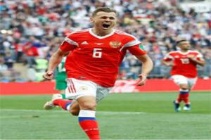 Denis Cheryshev Man of The Match, Bintang Kejutan Rusia