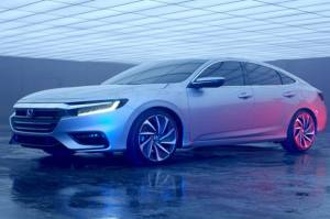 Honda Ungkap Model Sedan Insight Terbaru
