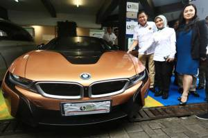 BMW i Wallbox Plus Tersedia di Pertamina Green Energy Station