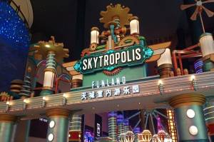Serunya Skytropolis Funland, Indoor Theme Park Resort World Genting