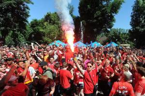 Wali Kota Liverpool dan Madrid Bahas Dua Zona Fan di Final
