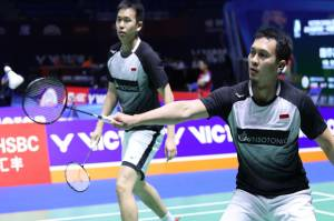 Menang Rubber Game, Hendra/Ahsan Tembus Perempat Final China Open