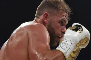 Juara Menengah Super WBO Billy Joe Saunders Debut di Amerika