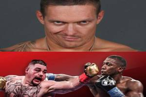 Oleksandr Usyk Awasi Anthony Joshua vs Andy Ruiz di Sisi Ring