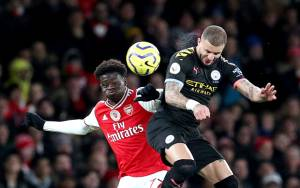 Manchester City Permalukan Arsenal di Stadion Emirates