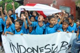 Dukung Timnas Indonesia
