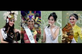 Talent show Miss Indonesia 2014